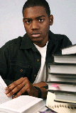 black_teen_studying